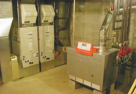 Custom Hydro Air System Install In Weston Ma Boucher