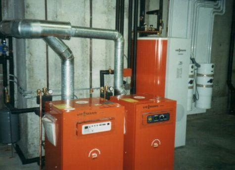 Viessmann Gas Boiler Install In Hopkinton Ma Boucher
