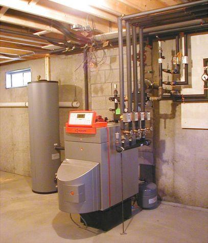 Viessmann Vitorond Boiler Install Uxbridge Ma Boucher