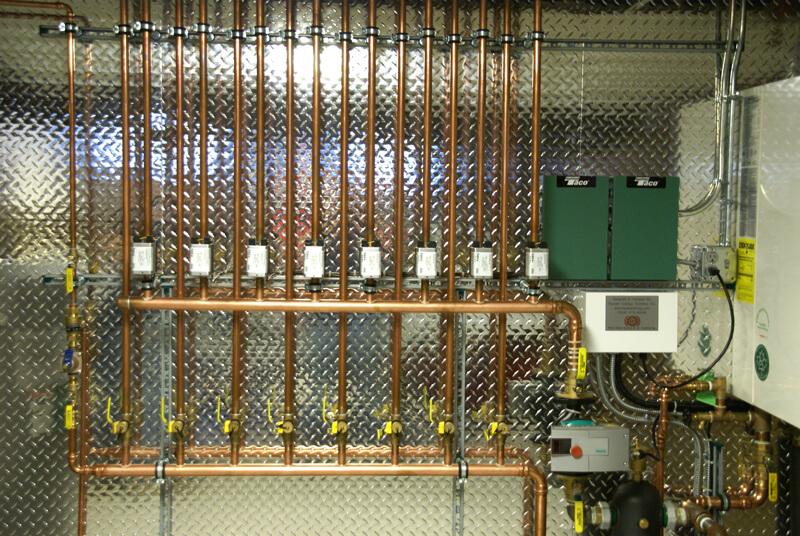 Radiant Heating Installation