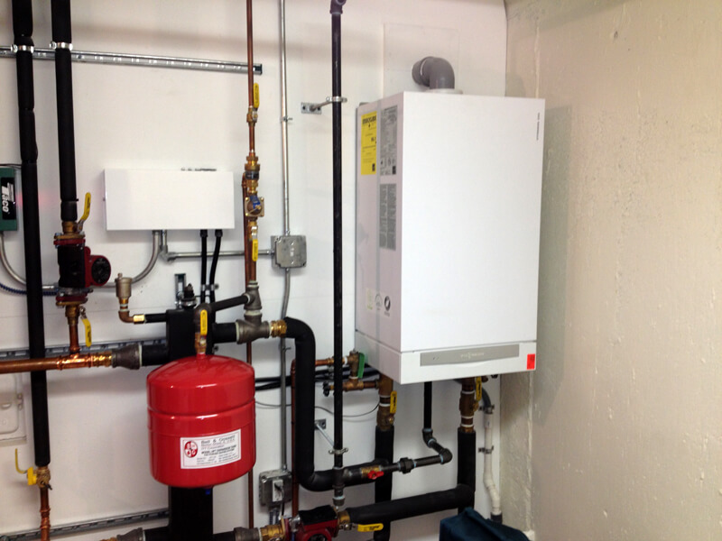 High Efficiency Boiler System Installation - Boucher Energy Systems